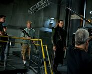 The Avengers Behind the Scenes photos 7