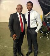 JohnKani and ChadwickBoseman