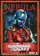 Nebula GOTG2 Poster