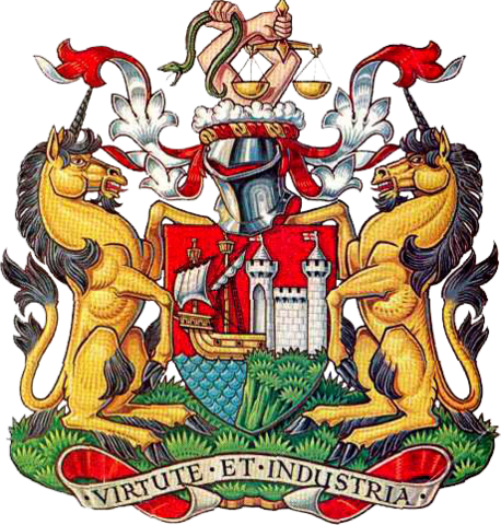 File:Coat of arms of Bristol City Council.png
