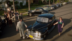 Peggy at Wilkes' House (2x03)