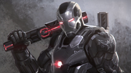 War Machine Armor Mark III (Civil War Concept Art)