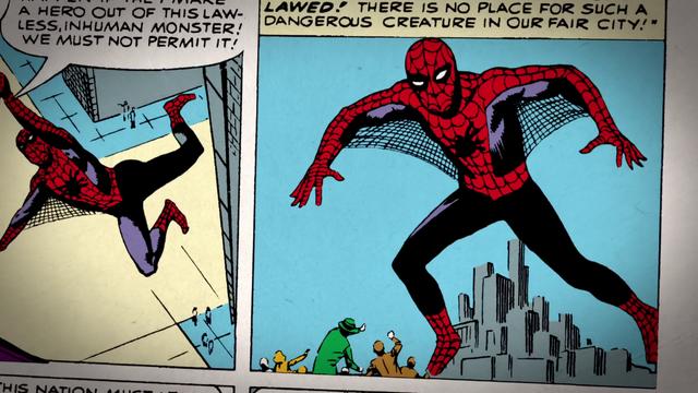 File:Steve Ditko Spider-Man (75 Years).png