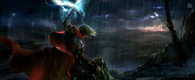 File:Thor and Loki confrontation concept art.jpg