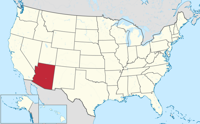 File:Map of Arizona.png