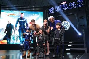 Captain America Winter Soldier Beijing Fan Event3