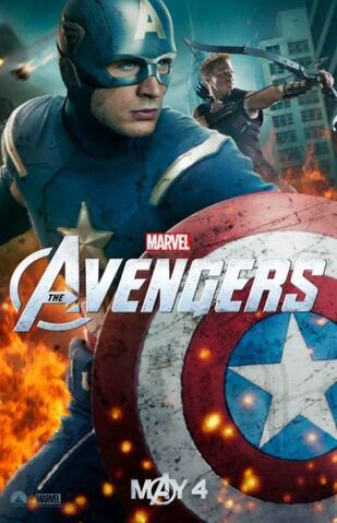 File:Avengers Poster Captain America and Hawkeye.jpg