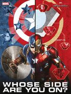 Civil War Whose Side Are You On Poster