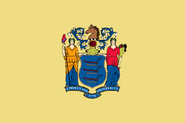 Flag of New Jersey