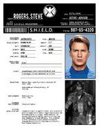 S.H.I.E.L.D. Rogers file