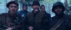 Cap and Howling Commandos