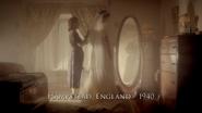 Hampstead, England - 1940 (Peggy's Wedding Dress)