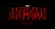 Ant-Man Trailer Logo