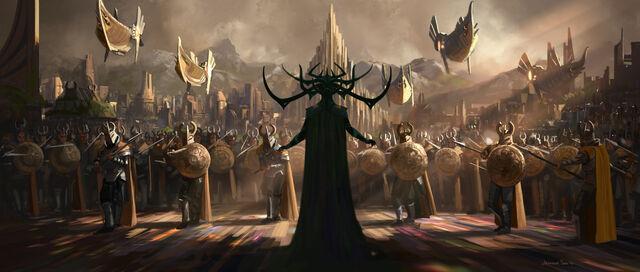 File:Hela in Ragnarok.jpg