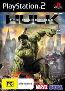 Hulk PS2 AU cover