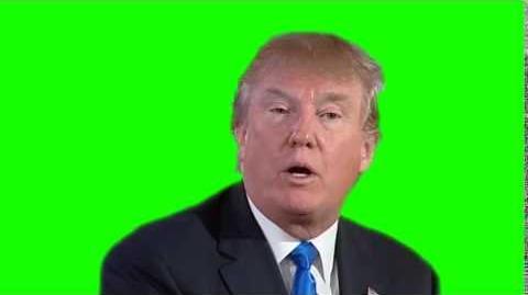 Small Loan of a Million Dollars (Donald Trump) - Greenscreen