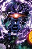 Galactus opens the portal to Earth