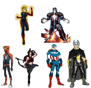 Mbarrios's Avengers Draft 2