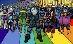 Asgardians (Earth-9997) Universe X Vol 1 4