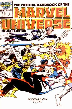 Official Handbook of the Marvel Universe Vol 2 9