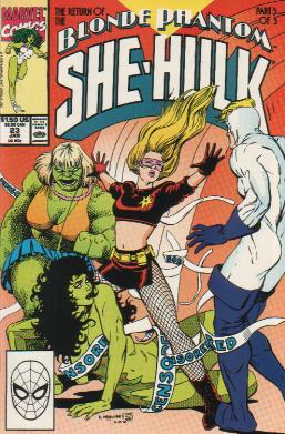 Sensational She-Hulk Vol 1 23
