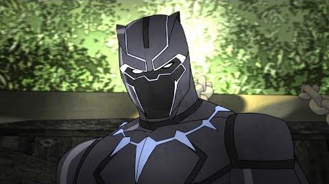 Black Panther Marvel's Avengers Secret Wars Disney XD