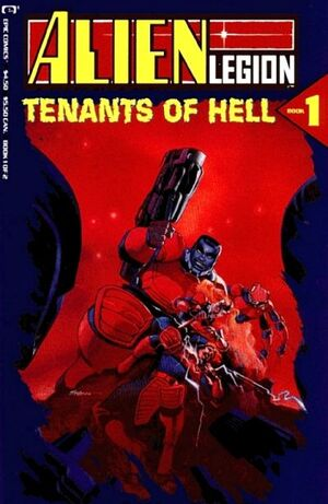 Alien Legion Tenants of Hell Vol 1 1