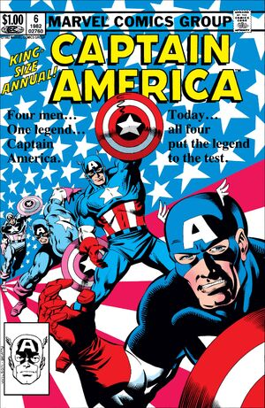 Captain America Annual Vol 1 6