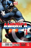 Captain America Vol 7 1 Quesada Variant