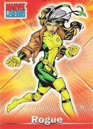 Rogue (Anna Marie) (Earth-616) from Marvel Legends (Trading Cards) 0001
