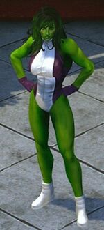 Jennifer Walters (Earth-TRN258) from Marvel Heroes (video game) 001
