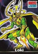 Loki Laufeyson (Earth-616) from Marvel Legends (Trading Cards) 0001