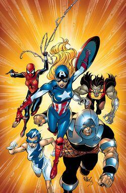 Avengers Next Vol 1 1 Textless