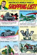 Sgt Fury America's World War II Shopping List Pin Up