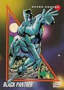 T'Challa (Earth-616) from Marvel Universe Cards Series III 0001