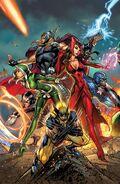 Uncanny Avengers Vol 1 1 Midtown Comics Variant Textless