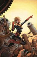 Captain Marvel Vol 8 2 Jones Variant Textless