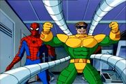 Otto Octavius and Peter Parker (Earth-92131) from Spider-Man The Animated Series Season 3 3 0001