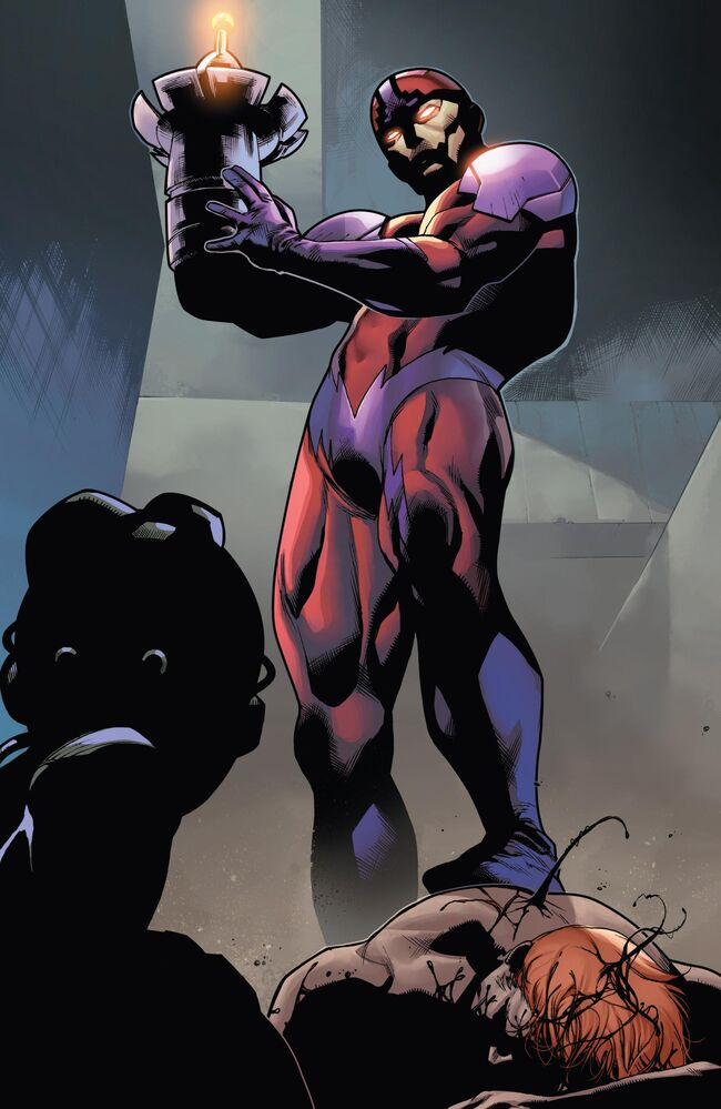 https://vignette4.wikia.nocookie.net/marveldatabase/images/1/10/Ulysses_Klaw_%28Earth-616%29_from_Superior_Carnage_Vol_1_1_001.jpg/revision/latest/scale-to-width-down/650?cb=20130718233151