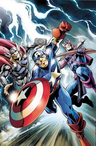 File:Avengers Vol 4 11 Captain America 70th Anniversary Variant Textless.jpg