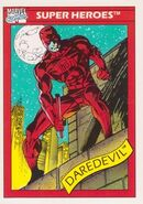 Matthew Murdock (Earth-616) from Marvel Universe Cards Series I 0001
