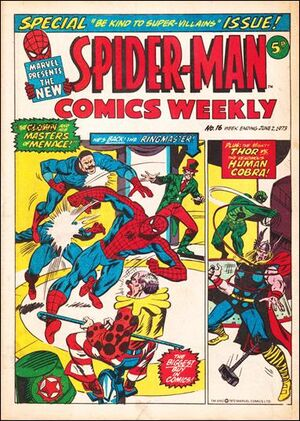 Spider-Man Comics Weekly Vol 1 16