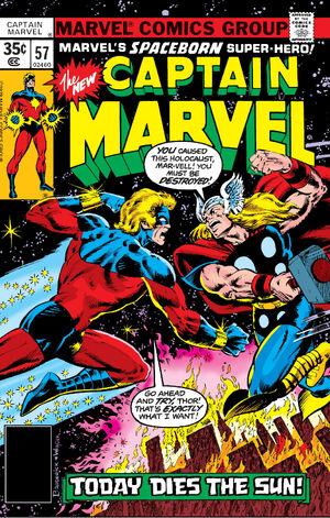 Captain Marvel Vol 1 57