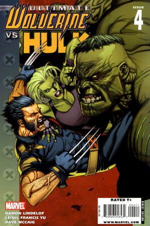 Ultimate Wolverine vs Hulk Vol 1 4