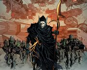 Corvus Glaive (Earth-616) from New Avengers Vol 3 8 001