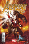 Avengers Assemble Vol 2 14AU Many Armors of Iron Man Variant