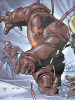 Crimson Dynamo (Earth-8351) from What If? Spider-Man Vs. Wolverine Vol 1 1 0001