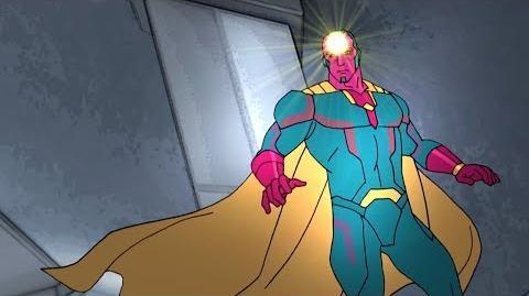 Vision Marvel's Avengers Secret Wars Disney XD