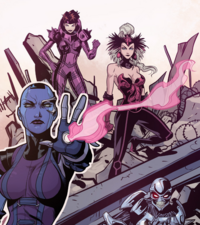 Graces (Earth-616) from Guardians of the Galaxy Best Story Ever Vol 1 1 001