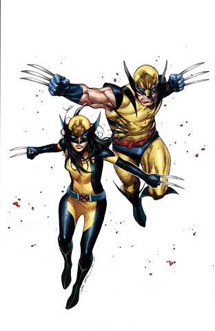 File:Generations Wolverine & All-New Wolverine Vol 1 1 Coipel Variant Textless.jpg